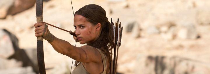 """""""Tomb Raider"""" mit Actiongarantie: Alicia Vikander überzeugt als selbstbewusste """"Lara Croft"""""""