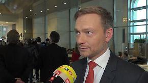 """Christian Lindner zur neuen GroKo: """"Ich habe Frau Merkel nicht gewählt"""""""