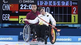 Ein Weiterkommen in Pyeongchang ist für die Rollstuhlcurler kaum noch möglich.