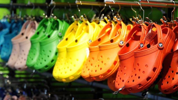 2004 hatte Crocs in den USA ein Patent auf sein Schuhdesign angemeldet.