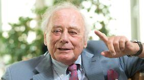 Reinhold Würth machte mit Schrauben ein Vermögen.