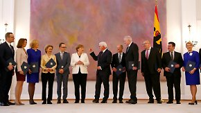 "Steinmeier warnt vor ""Weiter so"": GroKo-Minister legen Amtseid ab"