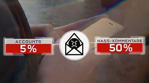 Hasskommentare im Netz: Lautstarke Minderheit flutet Facebook mit Hetze