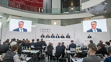 """""""Modellfeuerwerk"""" aus Ingolstadt: Audi kündigt hartes Geschäftsjahr an"""