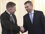 Keine Neuwahlen in der Slowakei: Pellegrini soll Regierungschef Fico ablösen