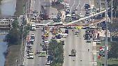 Einsturz in Miami: Fußgängerbrücke begräbt mehrere Menschen unter sich