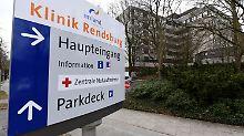 Krankenhäuser, wie das in Rendsburg, halten derzeit nur noch einen Notbetrieb aufrecht.