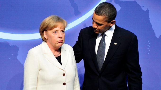 """Die Amerikaner bescheinigen der Kanzlerin """"selten kreativ"""" zu sein und das Risiko zu meiden. Obama muss jetzt einiges an Porzellan kitten."""