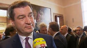 """Markus Söder im n-tv Interview: """"Die Bayern lieben ihr Land, wie es ist"""""""