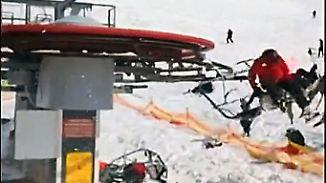 Drama mit elf Verletzten: Skilift in Georgien gerät außer Kontrolle