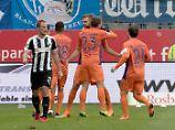 2. Liga: FCK und Union patzen: Der dreifache Hinterseer rettet Bochum
