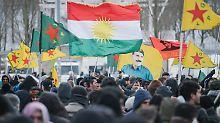 Protest gegen Türkei-Offensive: Tausende Kurden gehen auf die Straße
