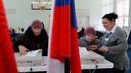 Kreml meldet höhere Wahlbeteiligung: Russland wählt neuen Präsidenten