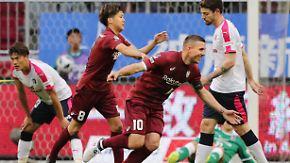 Erster Saisonsieg in der J-League: Podolski schießt Vissel Kobe in die Erfolgsspur
