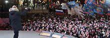 Video: Putin läßt sich feiern