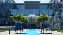1000 Kameras schützen Gebäude: Nato zieht in neues Hauptquartier ein