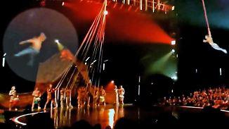 Bei Show des Cirque du Soleil: Zirkusakrobat stirbt nach Sechs-Meter-Sturz