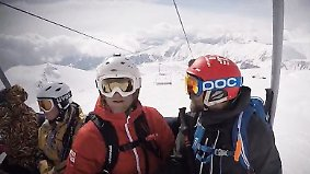 Schockvideo aus Georgien: Wie sicher sind deutsche Skilifte?