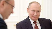 Der Sport-Tag: Putin will Doping-Konvention der Vereinten Nationen ändern