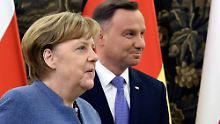 Merkel trifft Morawiecki: Deutschland und Polen nähern sich an