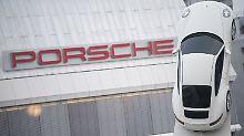 Die Gewinne von Porsche schießen unter anderem dank starker VW-Zahlen in die Höhe.