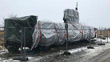 Auf diesem U-Boot des dänischen Erfinders Peter Madsen wurde die schwedische Journalistin Kim Wall wohl ermordet.