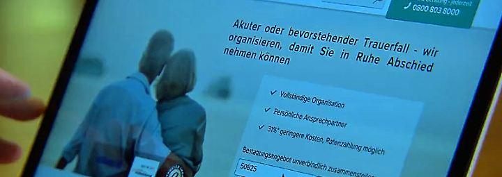 n-tv Ratgeber: Digitaler Wandel nimmt das Geschäft mit dem Tod ins Visier