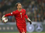 Sein bisher letzter Einsatz: Manuel Neuer am am 11. Oktober 2016 beim 2:0 gegen Nordirland.