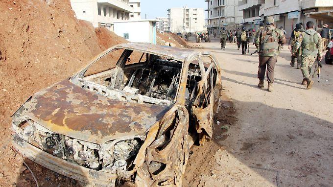 Bislang hielt sich die Bundesregierung mit Kritik am türkischen Einmarsch in Syrien zurück.