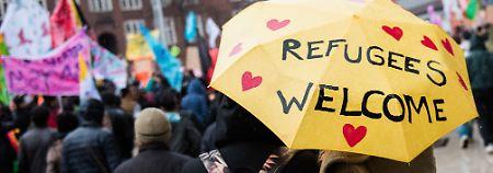 Studie zum Deutschlandbild: Ausland lobt deutsche Flüchtlingspolitik