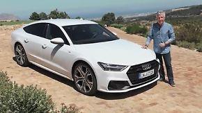 Luxusliner mit Quattro-Antrieb: Neuer Audi A7 Sportback nähert sich dem A8 an