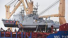 Trotz Stopp für Rüstungsexporte: Saudis bekommen deutsche Patrouillenboote