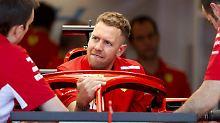 """Hamilton dominiert Training: Vettel muss mit """"Loria"""" noch warm werden"""