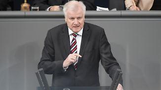 """Linke: Wahlkampf für CSU: Seehofer plädiert für """"Null-Toleranz-Strategie"""""""