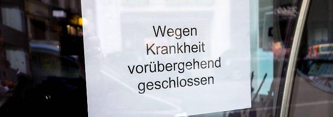Deutschland hat die Grippe: Höchster Krankenstand seit zehn Jahren