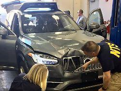 Laut Uber-Unterlagen: Probleme vor Roboterwagen-Unfall