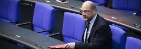 Martin Schulz blieb sein Bundestagsmandat.