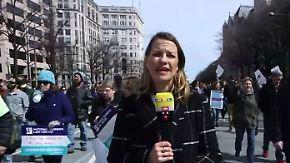 """Christina Endruschat in Washington: """"Das ist erst der Anfang"""""""