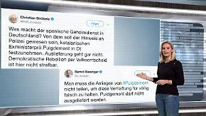 n-tv Netzreporterin: Netzgemeinde fordert #freepuigdemont