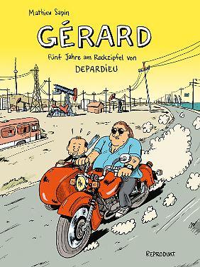 """""""Gérard"""" ist bei Reprodukt erschienen, 160 Seiten im Hardcover, 24 Euro."""
