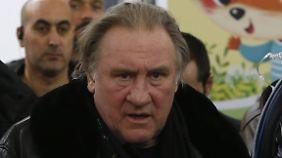 """Legt viel Wert auf sein Bauchgefühl: das """"Gesamtkunstwerk"""" Gerard Depardieu."""