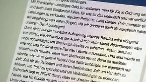 """""""Das ist ein Witz"""": Krankenschwester schreibt wütenden Brief an Spahn"""
