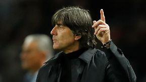 """Enttäuschung beim DFB-Team: Löw: """"Wir werden uns steigern"""""""