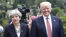 """""""Geheime Aktivitäten eindämmen"""": Trump und May planen Anti-Spionage-Allianz"""