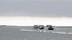 Jeep, Maserati und BMW im Gelände: Kraftvolle SUV messen sich in dänischem Strandsand