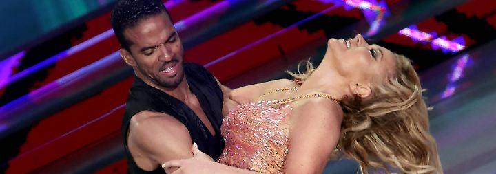 Tanzen oder Wrestling?: A ... A ... Anastacia, ach du Schreck!