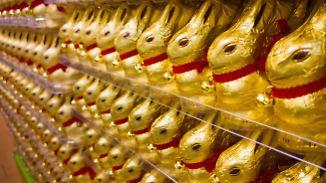 Besuch im Schokoladenmuseum: Hasenproduktion erfordert Fingerspitzengefühl