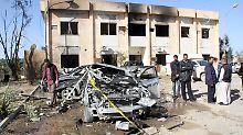 IS-Anschlag in Ostlibyen: Selbstmordattentäter tötet acht Menschen
