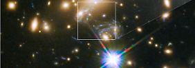 Ein Blauer Überriese: Astronomen spüren neuen, fernsten Stern auf