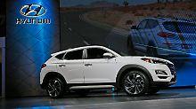 Mit frischem Gesicht und neuen Assistenten soll der Hyundai Tucson im Sommer nach Deutschland kommen.